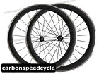 CSC 700C Carbon Road Cycling Wheel 23mm Wide 50mm Clincher Alloy Braking Surface