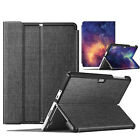 For Microsoft Surface 3 10.8-Inch Leather Case Cover Wireless Bluetooth Keyboard