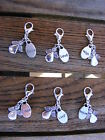 Tibetan Silver Hand Crafted Angel Inspired Words Clip Charms Bracelets/Necklaces
