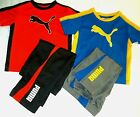 PUMA Boys New Shirt Pants Outfit Set size 2T Nwt + Free Shipping