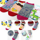 Women Girl Fashion Socks Cute Cartoon Character Socks Comfort Korea Ankle Socks