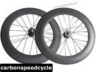 2015 Hot Sale 700C Carbon fixed gear Cycling Wheel 88mm Tubular Track Wheelset