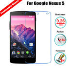 9H Premium Tempered Glass Screen Film Protector For LG Google Nexus 5