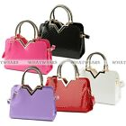 New Designer Fashion Womens Leather Style Tote Shoulder Bag Handbag Ladies FKS