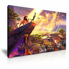 Disney The Lion King Cartoon Movie Kids Canvas Wall Art Picture Print 9 Sizes