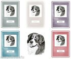 Bernese Mountain Dog Notebook by Curiosity Crafts NEW* Choice of Colours
