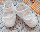 NIB Girl Shoes 1CAGAS  Baptism LDS Blessing Cotton Size  Little Things CLOSEOUT