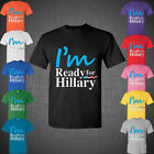 Hillary Clinton for President 2016 T-Shirt Political USA US Democratic party tee