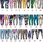 Women Fashion Corlorful Stretch Slim Skinny Pencil Trouser Legging #2 D