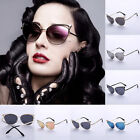 Women's Vintage Sunglasses Cat Eye Design Sexy Frame Multi-color Eyeglasses FKS