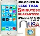 Factory Unlock Service/Code Express Att AT&T iPhone 5, 6, 6S, 7, 8 CLEAN IMEI