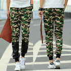 Mens Casual Camouflage Jogger Dance Sportwear Baggy Harem Pants Trousers New