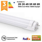 BRITE SOURCE T8 / T12 LED TUBE FLUORESCENT REPLACEMENT - 2ft 3ft 4ft 5ft 6ft 8ft