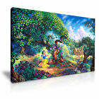 DISNEY Snow White Canvas Framed Print Kids Room Deco ~ More Size