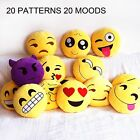 Emoji Smiley Stuffed Cushion Emoticon Plush Toy Doll Girl Kids Sofa Couch Pillow