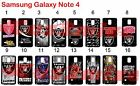 Oakland Raiders Samsung Galaxy Note 4 Case Hard Silicone Case ##