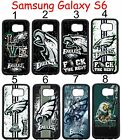 Philadelphia Eagles Samsung Galaxy s6 Case Hard Silicone Case