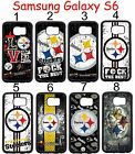 Pittsburgh Steelers Samsung Galaxy s6 Case Hard Silicone Case ##