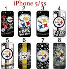 Pittsburgh Steelers iPhone 5 5s Case Hard Silicone Case #