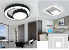 Modern Square Ring Round Ceiling Light Pendant Lamp Dinner Room Kitchen Lighting