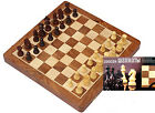 Ultimate Wooden / Magnetic Travel Chess board