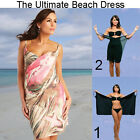 Saress PALM BEACH Beachdress Coverup Swimwear Bikini Wrap Sarong Dress