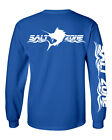 Salt Zone Performance Wear Mens saltwater long sleeve fishing shirt reel life