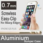 ULTRA STRONG ALUMINUM FRAME METAL BUMPER CASE COVER FOR APPLE IPHONE