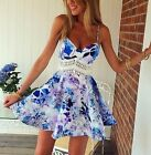2015 Women Sexy Summer Casual Sleeveless Party Evening Cocktail Short Mini Dress