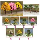 3 x Miniature Tree Plants Fairy Garden Accessories Dollhouse Ornament Decor FKS