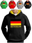 Deutschland Hoodie German Flag Fußball Football Motorsport Tennis Rugby Fans Top
