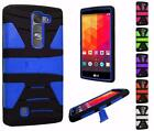 For LG Volt 2 LS751 Magna New Hybrid Dynamic Dual Layer U Kickstand Cover Case