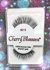 CHERRY BLOSSOM EYELASHES #213 100% Human Hair CHOOSE from VERIETY QTY SETS