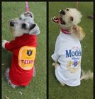 """BEER/ CERVEZA T-shirt for DOG, """"MODELO especial"""" OR """"TECATE"""". brand NEW!"""