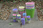 Clearance Decorative Buckets  For Garden or Indoors Planters, Pots, Bits n Bobs