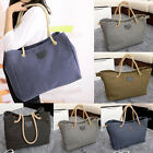 Canvas Shoulder Bag Messenger Women Satchel Tote Handbag Travel Shopping Bag