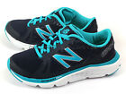 New Balance W690LN4 D Cyan Blue & Navy & White Lightweight Running Shoes NB