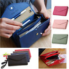 Lady Women Clutch Long Purse Leather Wallet Card Holder Handbag Phone Bag image