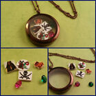 Disney Pirates of the Carribean Handmade Floating Charm for Living Memory Locket