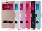 Luxury Smart VIEW Flip Leather Cover Stand Case For Huawei ASCEND Y550