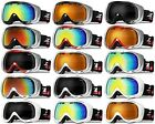 XLINE R8071 Goggles SKI SNOWBOARD Snow Mirrored UV Double Mens Large Big