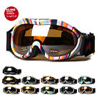 XLINE 6PP001 Womens Goggles SKI SNOWBOARD Snow Mirrored UV Double Youth Medium