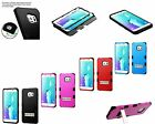 TUFF Hybrid Phone Protector Cover Case For Samsung Galaxy S6 Edge Plus