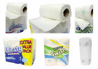 Kitchen Tissue Paper Roll Cleaning Wipes White Towel 4pk 6pk 2 ply tissues