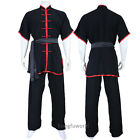 Lightcotton Summer Tai Chi Uniform Kung fu Martial arts Wing Chun Changquan Suit