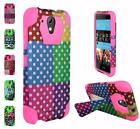 For HTC Desire 520 New Design Hybrid TSTAND Cover Case
