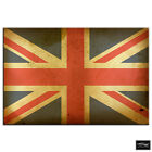 Union Jack Abstract   Maps Flags BOX FRAMED CANVAS ART Picture HDR 280gsm