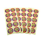 Well Done Colorful Round Smooth Paper Sticker Labels Packaging Seals Wedding