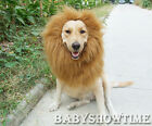 Pet Costume Lion Mane Wig for Dog Halloween SandaClothes Festival Fancy Dress up
