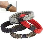 550 Paracord Survival Bracelet Cobra Braid Military Tactical Buckle